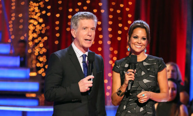 Dancing With The Stars (Fall 2013) episode 4: Tom Bergeron and Brooke Burke-Charvet
