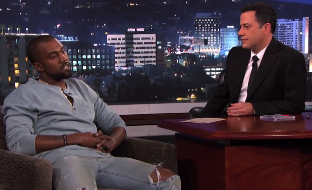 Kanye West on 'Jimmy Kimmel Live'