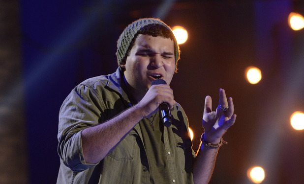 Contestant Carlos Guevera performs at the FOUR CHAIR CHALLENGE