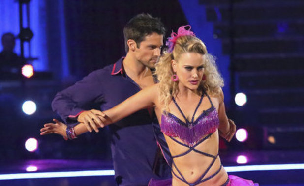Dancing With The Stars (Fall 2013) episode 4: Brant Daugherty and Peta Murgatroyd