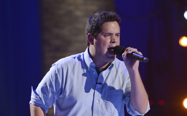 Contestant Tim Olstad performs at the FOUR CHAIR CHALLENGE