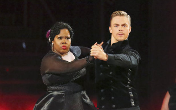 Dancing With The Stars (Fall 2013) episode 4: Amber Riley and Derek Hough