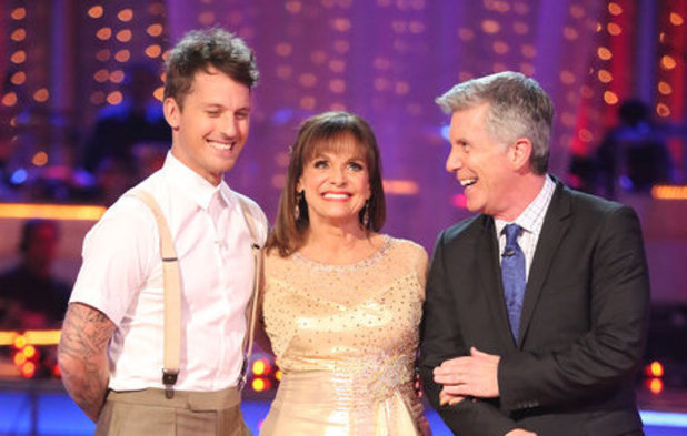 Dancing With The Stars (Fall 2013) episode 4: Valerie Harper and Tristan MacManus