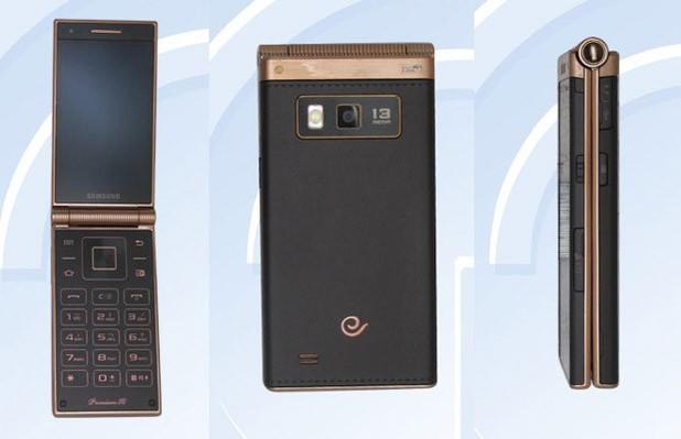 Samsung SM-W2014 flip phone
