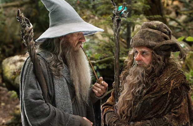 Sylvester McCoy in The Hobbit