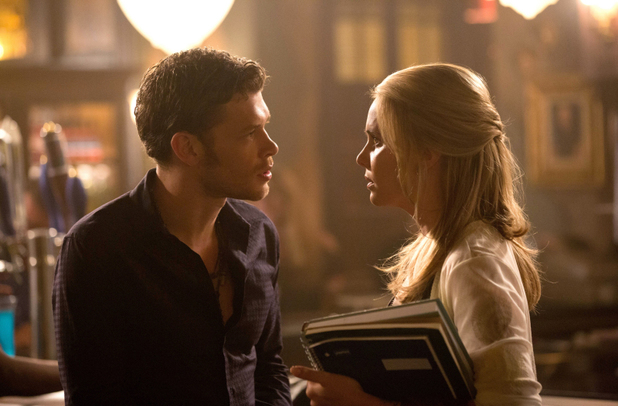 Joseph Morgan as Klaus and Leah Pipes as Cami in 'The Originals' S01E02: 'House of the Rising Son'