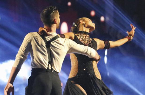 Dancing With The Stars (Fall 2013) episode 4: Elizabeth Berkley and Val Chmerkovskiy
