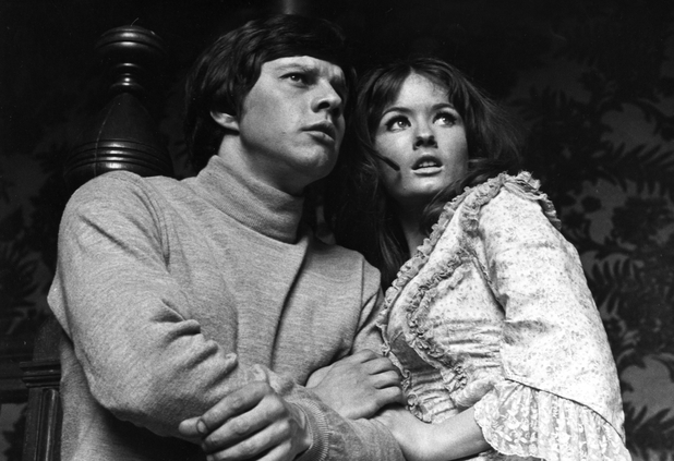 Frazer Hines and Deborah Watling in 'Doctor Who'
