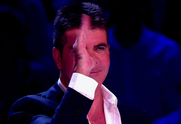Simon Cowell 10 Jun 2013 Britains Got Talent Final. Shown on ITV1 HD Simon Cowell is having a joke w...