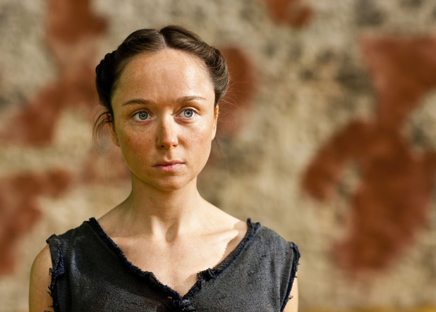 Emily Taaffe as Elpis in 'Atlantis' episode three
