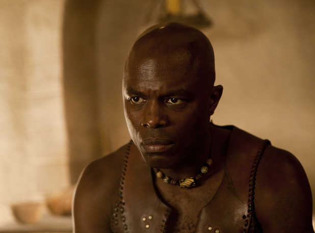Chris Obi as Shabaka in 'Atlantis' episode three