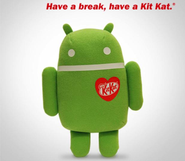 Android KitKat plush toy