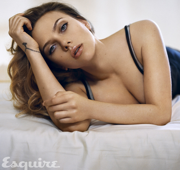 Scarlett Johansson poses for 'Esquire'