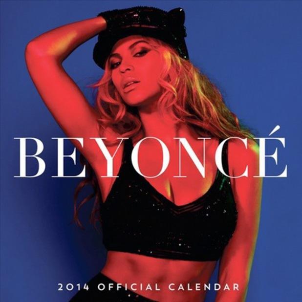 Beyonce Calendar 2014 uk Beyonce 2014 Calendar Images