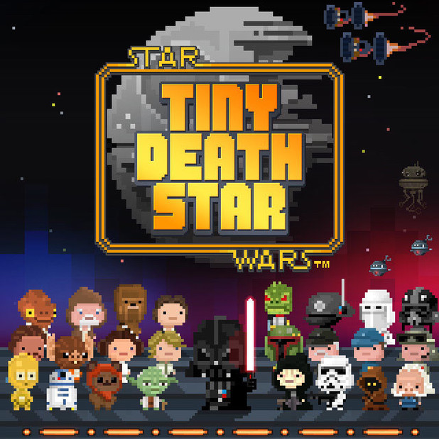 Tiny Death Star promotional poster