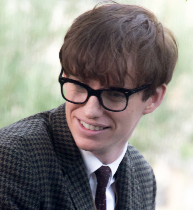 Eddie Redmayne'The Theory of Everything: The Story of Stephen Hawking' filming in London