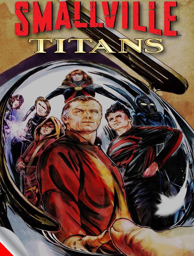Smallville: Titans artwork