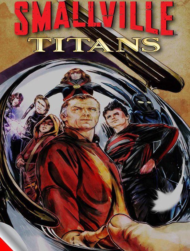 Smallville: Titans artwork