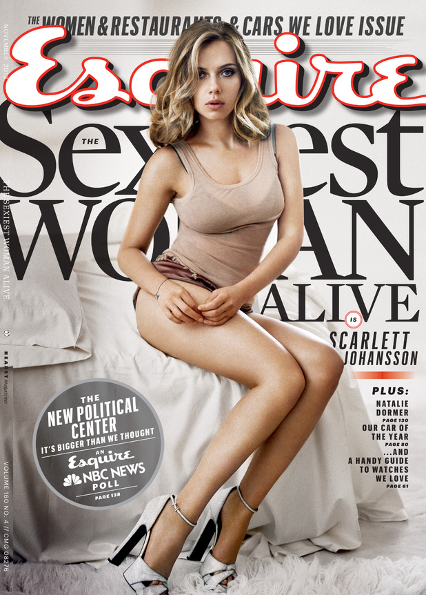 Scarlett Johansson on the cover of 'Esquire'