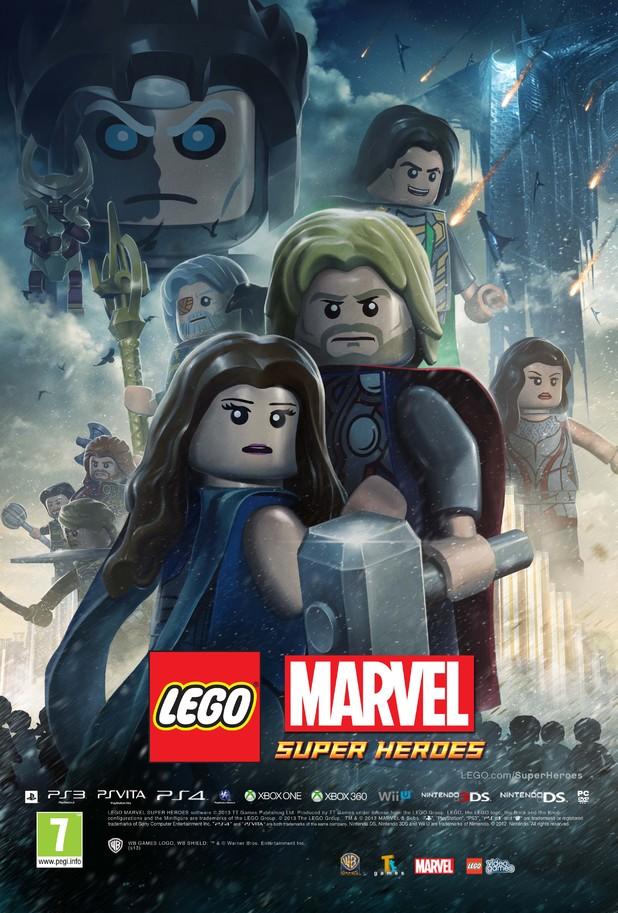 LEGO Thor: The Dark World poster
