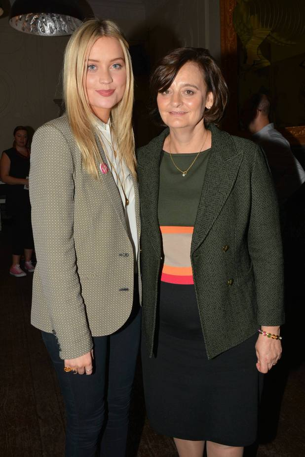 Laura Whitmore & Cherie Blair host Her Story photography exhibition in association with I Am A Girl at the Powerscourt Towncentre...