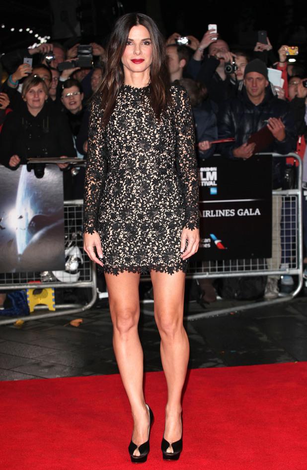 'Gravity' Premiere, BFI London Film Festival 2013 Sandra Bullock