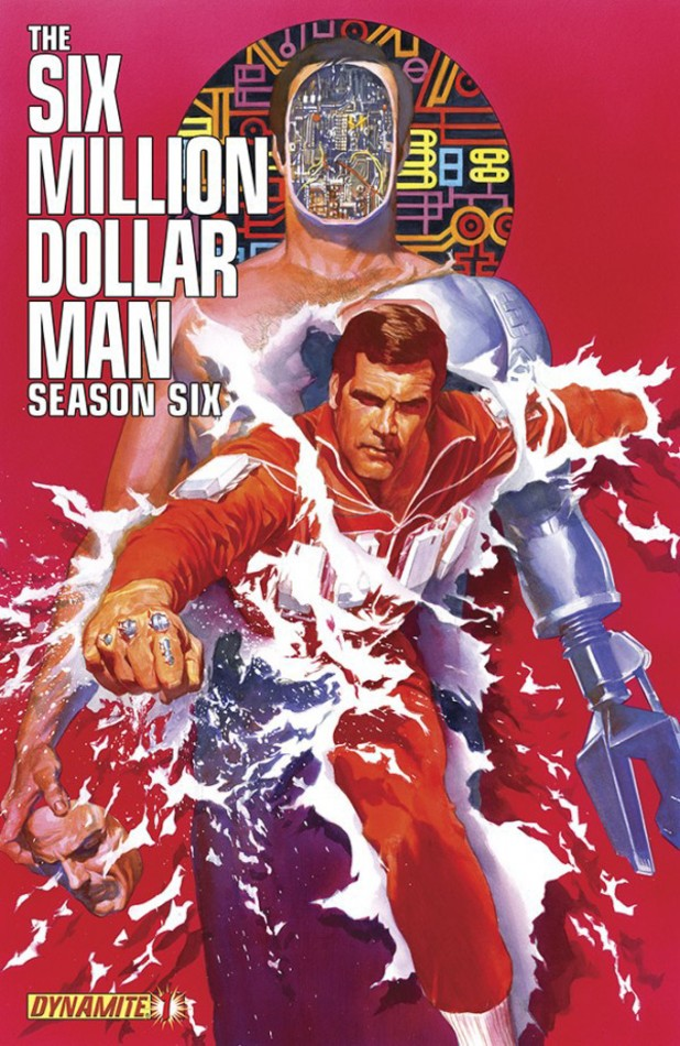 Six Million Dollar Man: Season 6 cover design