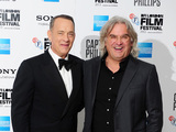 Tom Hanks and Paul Greengrass at the 57th BFI London Film Festival Opening Night Gala European Premiere of 'Captain Phillips'