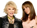 Melissa Rivers talks her mum, her son growing up and finding love in London.