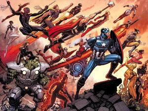 Avengers World comic