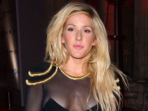 Ellie Goulding at the 2013 Attitude Magazine Awards at the Royal Courts of Justice in London.