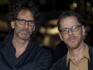 Joel and Ethan Coen at the BFI London Film Festival Centrepiece Gala of 'Inside Llewyn Davis', as part of the 57th BFI London Film Festival