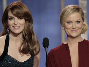 Tina Fey and Amy Poehler - Golden Globes 2013