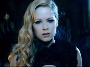 Avril Lavigne 'Let Me Go' video still