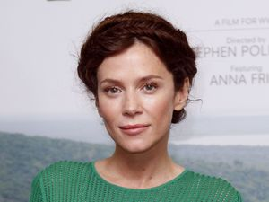 Anna Friel at the BFI IMAX for the launch of WWFÕs ÔVirungaÕ short film, about the quest to protect AfricaÕs oldest national park.