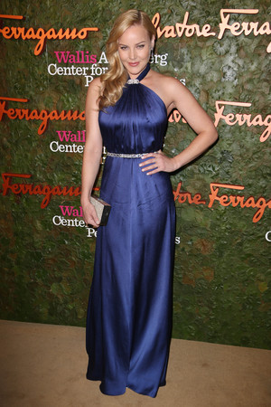 Abbie Cornish attend the Wallis Annenberg Center for the Performing Arts Inaugural Gala presented by Salvatore Ferragamo at the Wallis Annenberg Center for the Performing Arts on October 17, 2013 in Beverly Hills, California. (Photo by Donato Sardella/Getty Images for Wallis Annenberg Center for the Performing Arts)