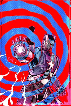 Iron Patriot comic