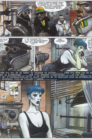 Enki Bilal's 'The Woman Trap'