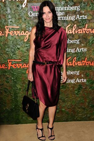 Courteney Cox attend the Wallis Annenberg Center for the Performing Arts Inaugural Gala presented by Salvatore Ferragamo at the Wallis Annenberg Center for the Performing Arts on October 17, 2013 in Beverly Hills, California. (Photo by Donato Sardella/Getty Images for Wallis Annenberg Center for the Performing Arts)