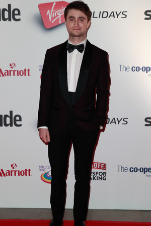 Daniel Radcliffe attending the 2013 Attitude Awards, held at the Royal Courts of Justice in central London.