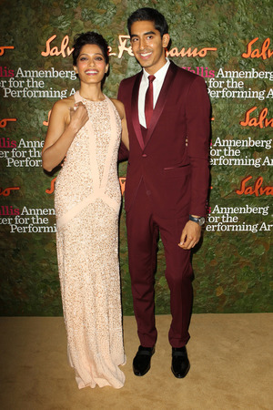 Frieda Pinto, Dev Patel Wallis Annenberg Center for the Performing Arts Inaugural Gala presented by Salvatore Ferragamo at the Wallis Annenberg Center for the Performing Arts on October 17, 2013 i