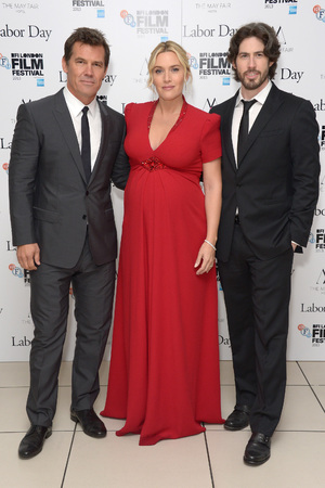 Josh Brolin, Kate Winslet, Jason Reitman at the 57th BFI London Film Festival Labor Day