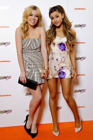 Ariana Grande and Jennette McCurdy, 'Sam & Cat' UK premiere - October 12, 2013