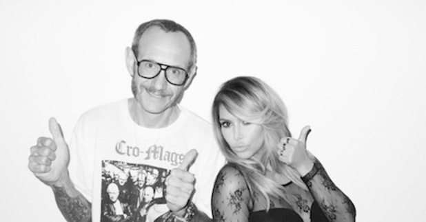 Kim Kardashian with Terry Richardson