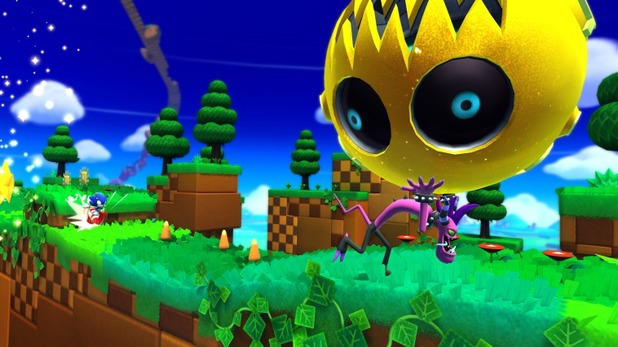 Nintendo Wii's 'Sonic: Lost World' screenshot