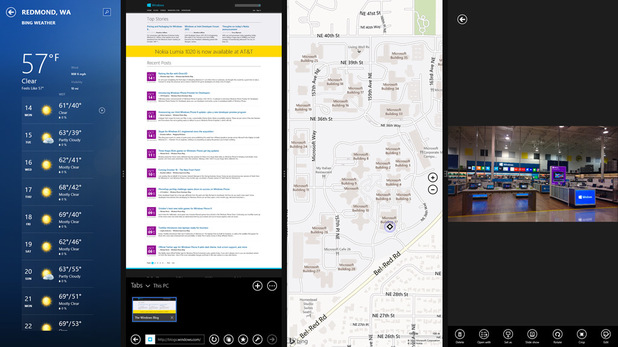 Windows 8.1 Snap View