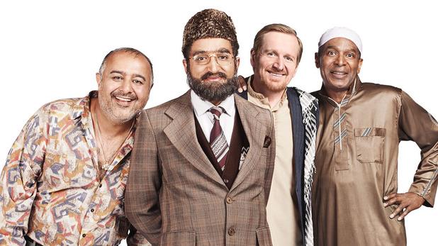 Riaz (NISH NATHWANI), Mr Khan (ADIL RAY), Dave (MATTHEW COTTLE), Omar (FELIX DEXTER)