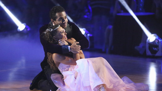Dancing With The Stars (Fall 2013) episode 5: Corbin Bleu & Karina Smirnoff