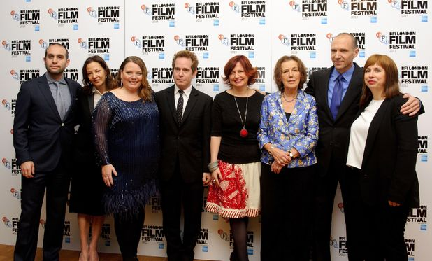 Ralf Fiennes and cast