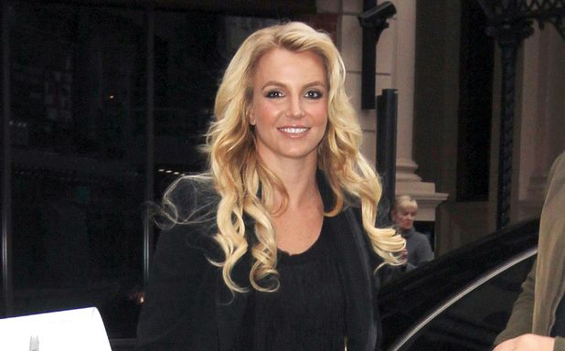 Britney Spears out and about in London, Britain - 14 Oct 2013